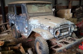 "Finding ""Dirtbag"": Unearthing an FJ40 in Ohio"