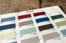 Toyota Paint Color Codes and Names 1961-1975